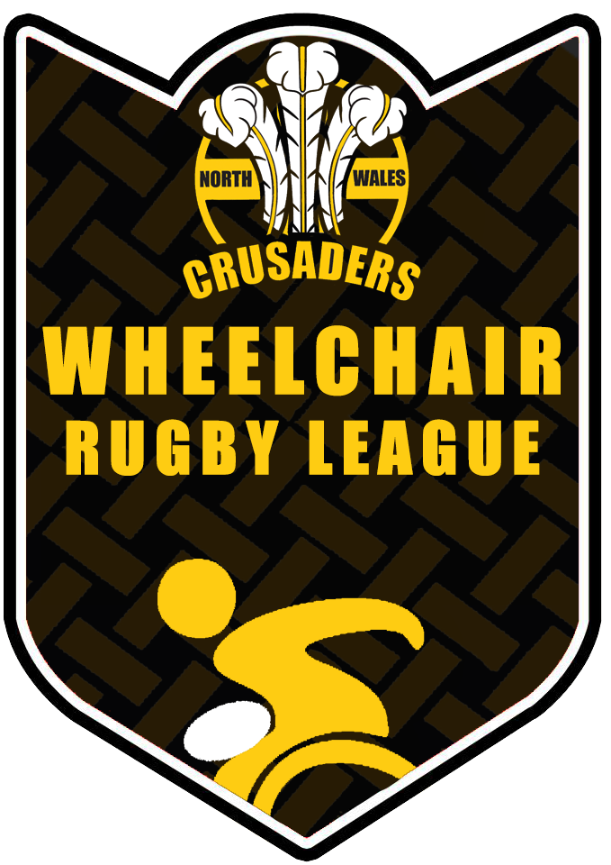 North Wales Crusaders Wheelchair Rugby League logo