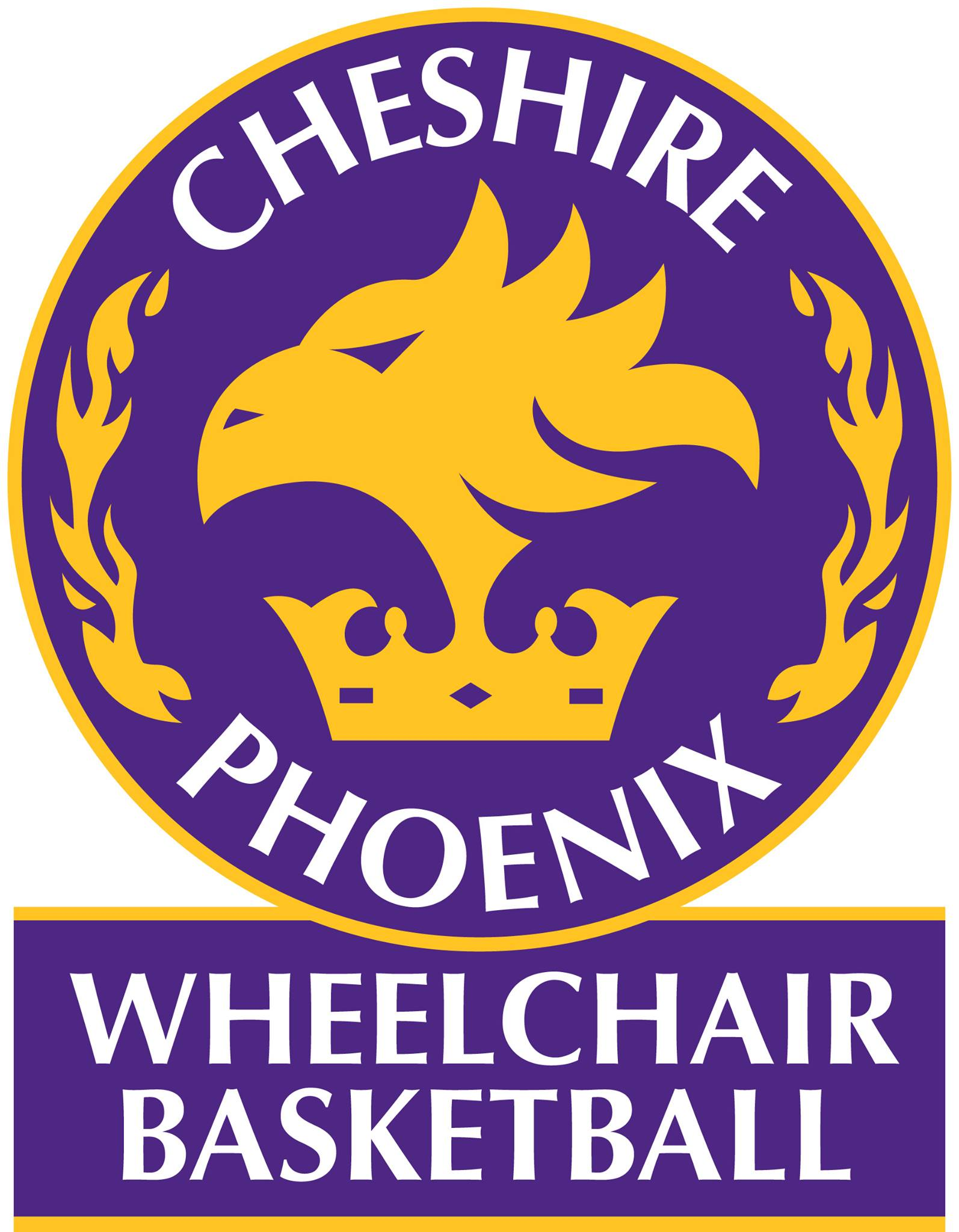 Cheshire Phoenix Wheelchair Basketball Club Logo