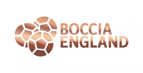 Bronze level accredited Boccia England club stamp