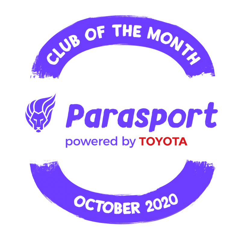 Stratford upon Avon was Parasport's Club of the Month for October 2020