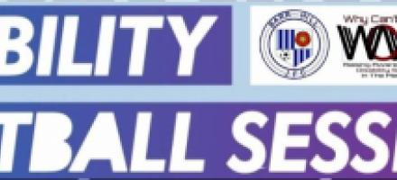 New Disability Football Team in Manchester logo